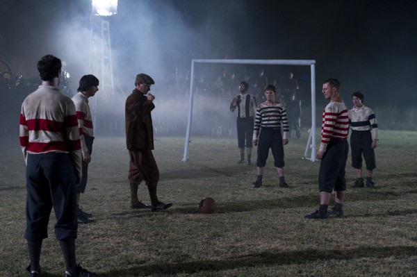 The british first lit football match 600x399